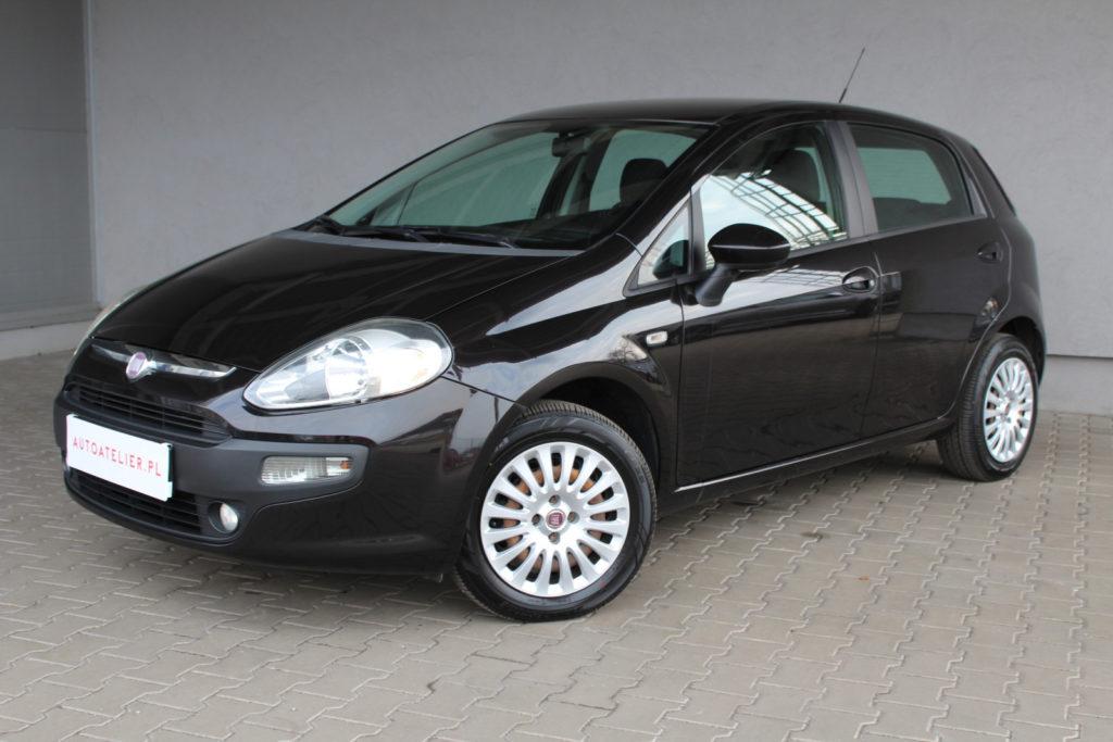 Fiat Punto Evo – 1.4/75KM klima , perfekcyjna kolorystyka wnętrza , rzadki kolor