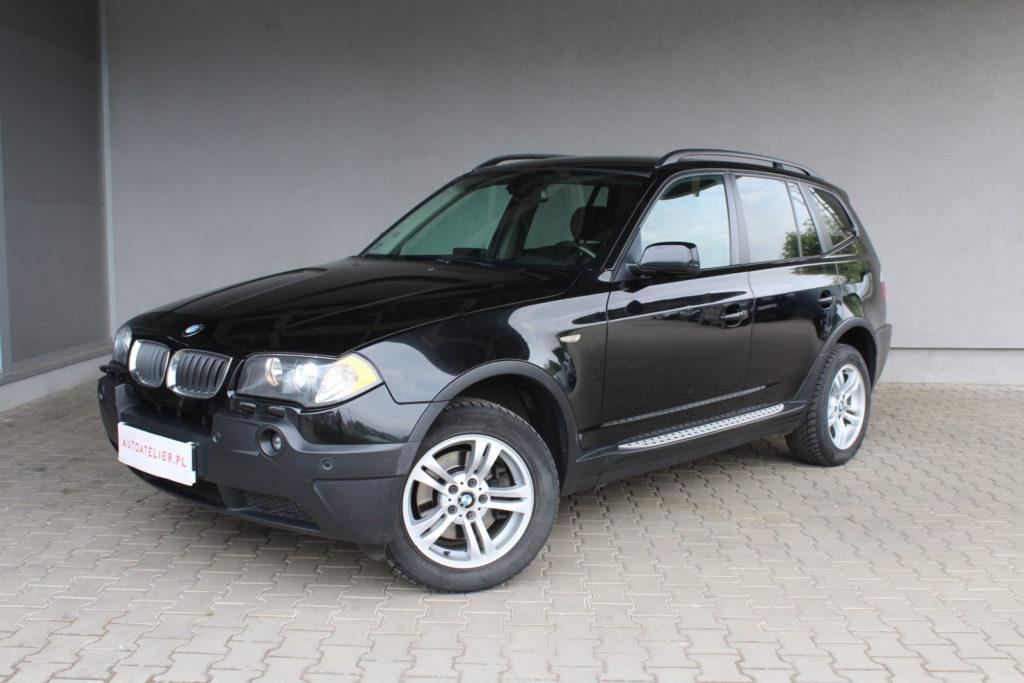 BMW X3 – 2.0/150KM xenon , kierownica wielofunkcyjna , zadbany egzemplarz